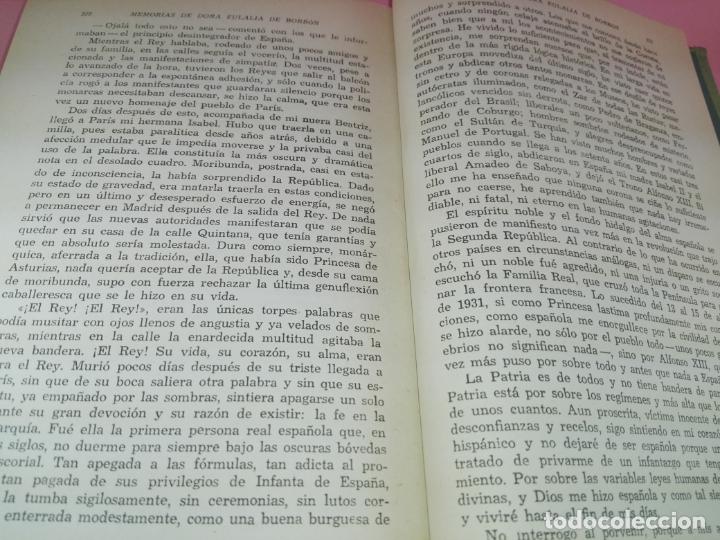 Libros de segunda mano: LIBRO-MEMORIAS DE DOÑA EULALIA DE BORBÓN INFANTA DE ESPAÑA-5ªEDICIÓN 1958-EDITORIAL JUVENTUD-EXCELEN - Foto 14 - 179207168