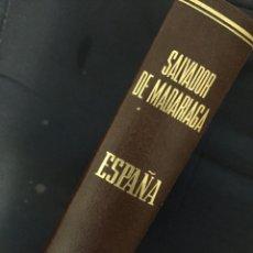 Libros de segunda mano: ESPAÑA / SALVADOR DE MADARIAGA. Lote 179520130
