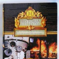 Libros de segunda mano: HISTORIA UNIVERSAL DE LA CAIDA DEL MURO DE BERLÍN. Lote 179553363