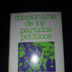 Libros de segunda mano: DICCIONARIO DE LOS PARTIDOS POLÍTICOS. LIBROS MOSQUITO DOPESA. 96 PÁGINAS. 1977. Lote 180024976