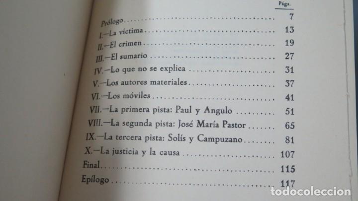 Libros de segunda mano: LOS ASESINOS DEL GENERAL PRIM. (aclaración de un misterio histórico). Antonio Pedrol Rius - Foto 2 - 180108526