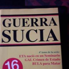 Libros de segunda mano: GUERRA SUCIA. ALVARO BAEZA L. 1996. 730 PÁGINAS. ETA GAL ETC. Lote 180110520