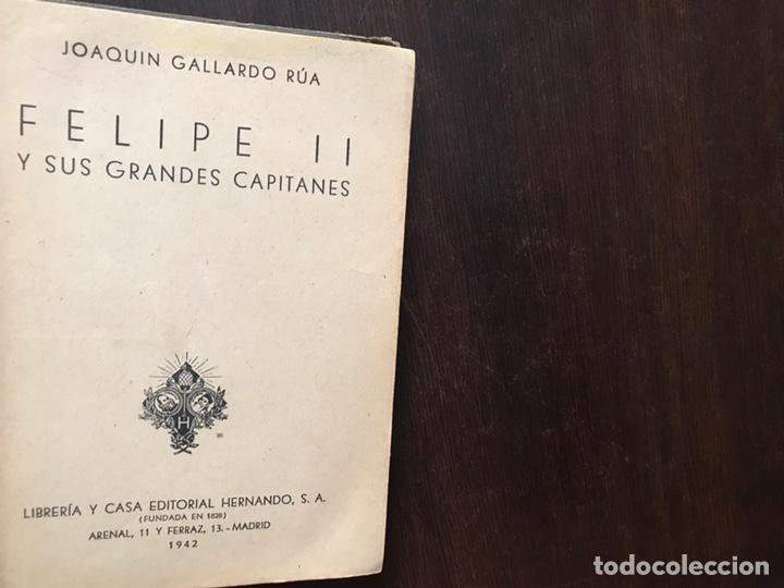 Libros de segunda mano: Felipe II y sus grandes capitales. Colección Hernando. 1942 - Foto 2 - 180150880