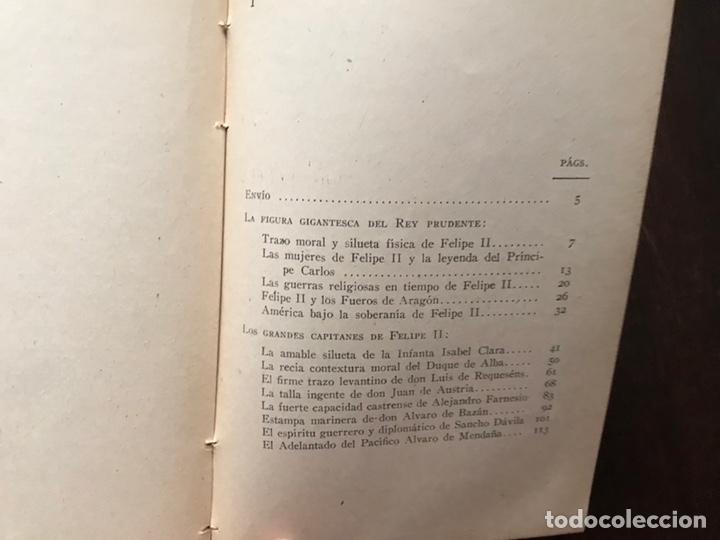 Libros de segunda mano: Felipe II y sus grandes capitales. Colección Hernando. 1942 - Foto 3 - 180150880
