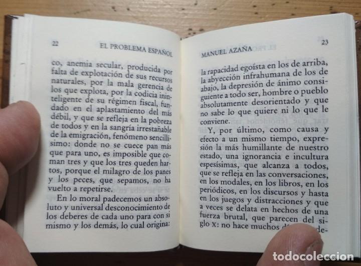 Libros de segunda mano: EL PROBLEMA ESPAÑOL - MANUEL AZAÑA - COLECCIÓN. CRISOL - Foto 4 - 180207127