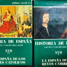 Libros de segunda mano: HISTORIA DE ESPAÑA MENENDEZ PIDAL XVII. Lote 180910845