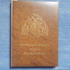 Libros de segunda mano: CONSTITUCIONES SINODALES DEL OBISPO DON PEDRO MANUEL - LEÓN -. Lote 181075417