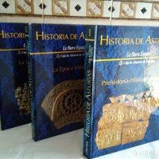 Libros de segunda mano: 12-HISTORIA DE ASTURIAS, 3 TOMOS, 1990. Lote 181433905