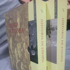 Libros de segunda mano: HISTORIA DE ETIOPÍA ( PEDRO PAEZ ) EDICIONES DEL VIENTO 2 TOMOS. Lote 181528668