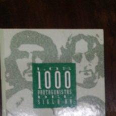 Libros de segunda mano: LOS 1000 PROTAGONISTAS DEL SIGLO XX (EL PAIS. CARTONE). Lote 182405952