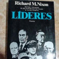 Libros de segunda mano: LÍDERES. RICHARD M. NIXON. 1983.. Lote 182642872
