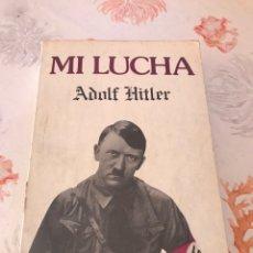Libros de segunda mano: MI LUCHA ADOLF HITLER. Lote 182987855