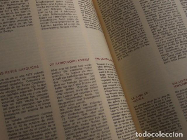 Libros de segunda mano: Destellos de la historia de España (Braun 1971). 17 laminas color, texto 3 idiomas - Foto 2 - 183229348