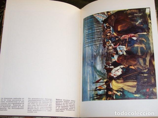 Libros de segunda mano: Destellos de la historia de España (Braun 1971). 17 laminas color, texto 3 idiomas - Foto 3 - 183229348