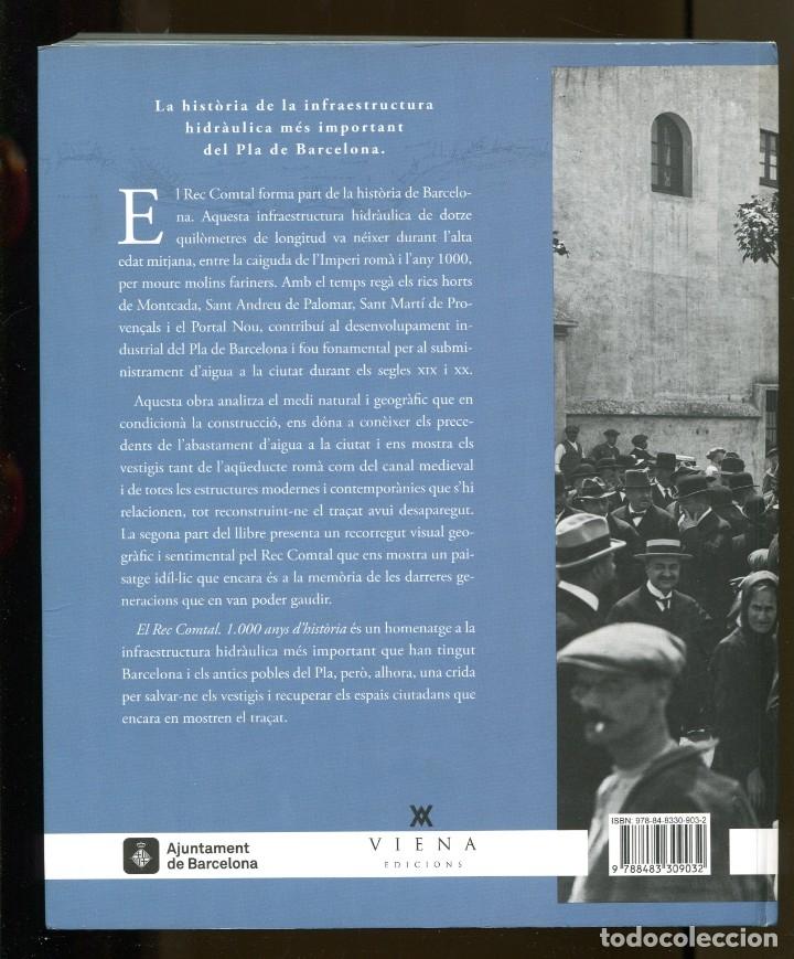 Libros de segunda mano: Enric H. March. El Rec Comtal de Barcelona.1000 anys dhistòria. ed. Viena 2016. llibre nou - Foto 2 - 183232260