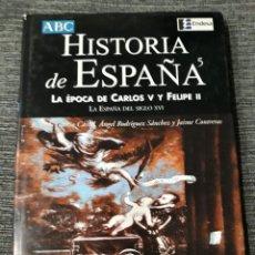 Libros de segunda mano: HISTORIA DE ESPAÑA, 5. LA ÉPOCA DE CARLOS V Y FELIPE II. (ABC) - GARCÍA CARCEL, RICARDO - RODRIGUEZ. Lote 183451578