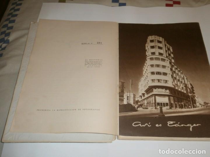 Libros de segunda mano: Tanger 1951 Proyecto e ilustraciones Zubillaga Artes Gráficas Martorell - Madrid Ejemplar 591 - Foto 4 - 183516392