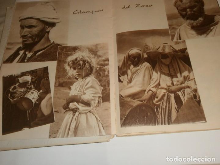Libros de segunda mano: Tanger 1951 Proyecto e ilustraciones Zubillaga Artes Gráficas Martorell - Madrid Ejemplar 591 - Foto 6 - 183516392