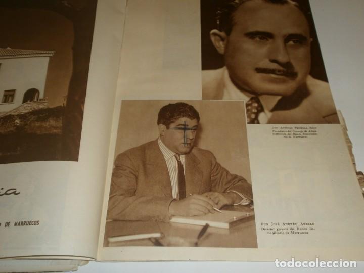 Libros de segunda mano: Tanger 1951 Proyecto e ilustraciones Zubillaga Artes Gráficas Martorell - Madrid Ejemplar 591 - Foto 11 - 183516392