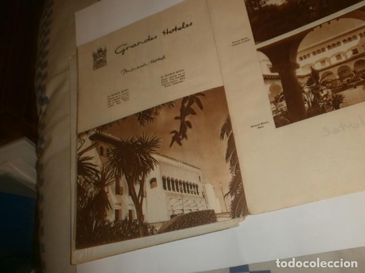 Libros de segunda mano: Tanger 1951 Proyecto e ilustraciones Zubillaga Artes Gráficas Martorell - Madrid Ejemplar 591 - Foto 13 - 183516392