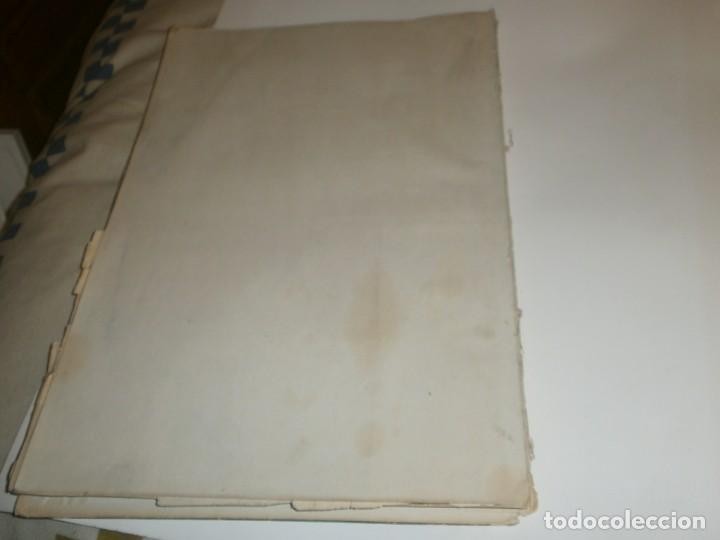 Libros de segunda mano: Tanger 1951 Proyecto e ilustraciones Zubillaga Artes Gráficas Martorell - Madrid Ejemplar 591 - Foto 17 - 183516392