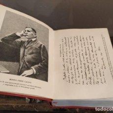 Libros de segunda mano: BENITO PEREZ GALDOS - AGUILAR OBRAS COMPLETAS I - EPISODIOS NACIONALES.. Lote 183558161