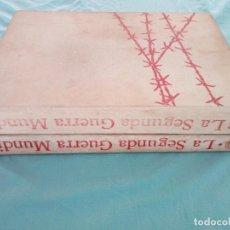 Libros de segunda mano: LA SEGUNDA GUERRA MUNDIAL Y EL TERCER REICH DE PLAZA Y JANES 5 TOMOS. Lote 186008490