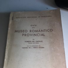 Libros de segunda mano: GUIA DEL MUSEO ROMÁNTICO PROVINCIAL. Lote 186074965