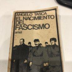 Libros de segunda mano: EL NACIMIENTO DEL FASCISMO. Lote 186356435