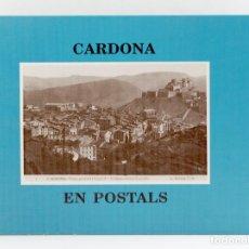Libros de segunda mano: CARDONA EN POSTALS - TIRADA LIMITADA A 2000 UNIDADES. Lote 187211146