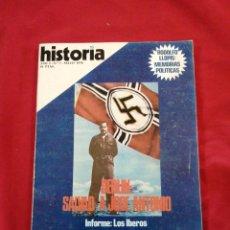 Libros de segunda mano: FALANGE. BERLIN: SALVAD A JOSE ANTONIO. HISTORIA 16. NUMERO 1. Lote 215472150