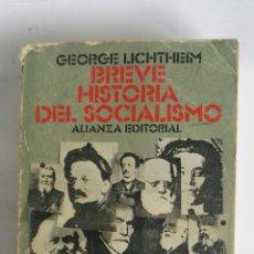Libros de segunda mano: BREVE HISTORIA DEL SOCIALISMO. Lote 188608960