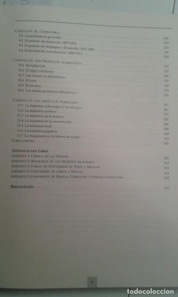 Libros de segunda mano: EL PUERTO DE BILBAO COMO REFLEJO DEL DESARROLLO INDUSTRIAL DE VIZCAYA. NATIVIDAD DE LA PUERTA - Foto 4 - 225009432