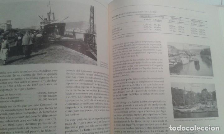 Libros de segunda mano: EL PUERTO DE BILBAO COMO REFLEJO DEL DESARROLLO INDUSTRIAL DE VIZCAYA. NATIVIDAD DE LA PUERTA - Foto 6 - 225009432