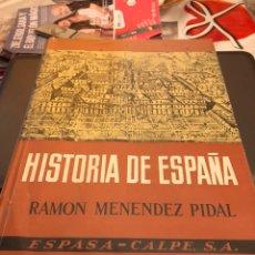 Libros de segunda mano: TOMO HISTORIA DE ESPAÑA RAMON MENÉNDEZ TOMO II 1966. Lote 189897550