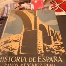 Libros de segunda mano: TOMO HISTORIA DE ESPAÑA RAMON MENÉNDEZ TOMO II 1962. Lote 189897976