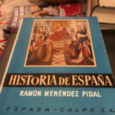 Libros de segunda mano: TOMO HISTORIA DE ESPAÑA RAMON MENÉNDEZ TOMO II 1969. Lote 189899067
