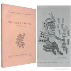 Libros de segunda mano: 1970 - HISTORIA DE MÉXICO - LÁMINAS - IMPERIO AZTECA, MOCTEZUMA, CORTÉS, CONQUISTA, AMÉRICA. Lote 190319725