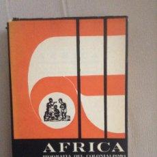Libros de segunda mano: AFRICA BIOGRAFIA DEL COLONIALISMO JOSE A BENITEZ CABRERA. Lote 190337402