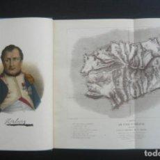 Libros de segunda mano: 1944 - NAPOLEÓN EN SANTA ELENA - LIBRO ILUSTRADO - LÁMINAS - CAUTIVERIO DE NAPOLEÓN - HISTORIA. Lote 190599082