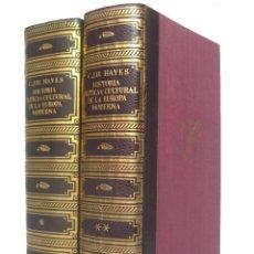 Libros de segunda mano: 1946 - 1ª ED. - HISTORIA POLÍTICA Y CULTURAL DE LA EUROPA MODERNA - 2 TOMOS CON LÁMINAS Y MAPAS. Lote 191156263