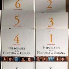 Libros de segunda mano: 6 TOMOS PERSONAJES HISTORIA DE ESPAÑA.. Lote 191258626
