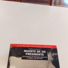 Libros de segunda mano: MUERTE DE UN PRESIDENTE. Lote 191399578