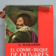 Libros de segunda mano: EL CONDE-DUQUE DE OLIVARES. MARAÑON. Lote 191559340