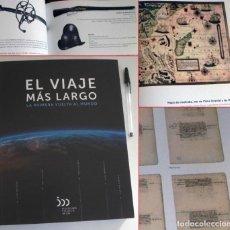 Libros de segunda mano: EL VIAJE MÁS LARGO LA PRIMERA VUELTA AL MUNDO LIBRO ELCANO MAGALLANES ESPAÑA HISTORIA NAVEGACIÓN 1ª. Lote 207022166