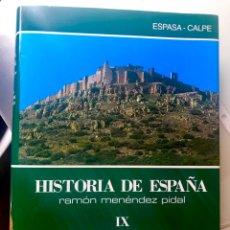 Libros de segunda mano: HISTORIA DE ESPAÑA MENÉNDEZ PIDAL. Lote 194344235