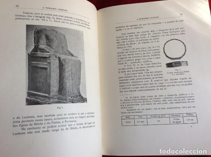 Libros de segunda mano: Teogonía portuguesa. Por Rogério Azevedo. 1947. Firmado. Envio grátis. - Foto 6 - 194508128