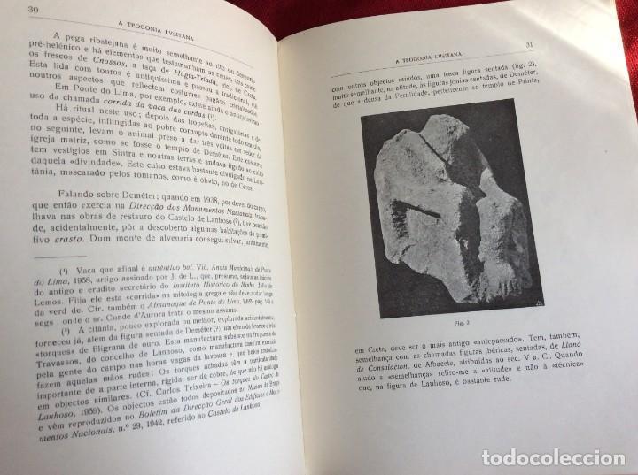 Libros de segunda mano: Teogonía portuguesa. Por Rogério Azevedo. 1947. Firmado. Envio grátis. - Foto 7 - 194508128