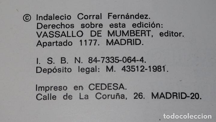 Libros de segunda mano: 1983, objetivo: Salvar a España - Indalecio Corral - Vassallo de Mumbert (1981) - Foto 3 - 194739381