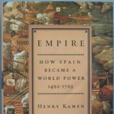 Libros de segunda mano: EMPIRE. KAMEN. Lote 194866915